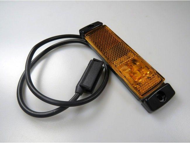 LED markeringslicht oranje 12/24V | Afbeelding 1 | AHW Parts