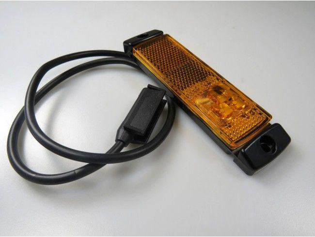 LED markeringslicht oranje 12/24V | Afbeelding 2 | AHW Parts