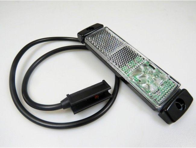 LED markeringslicht wit 12/24V | Afbeelding 1 | AHW Parts