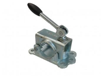 Neuswiel-steunpootklem 48mm met knikspindel | AHW Parts