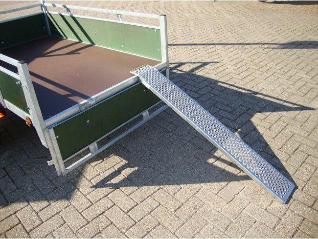 Oprijplaat set 150x20 400 kg | Afbeelding 2 | AHW Parts