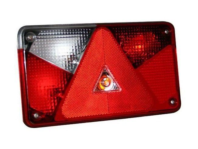 Achterlichtglas Multipoint V Links | Afbeelding 1 | AHW Parts