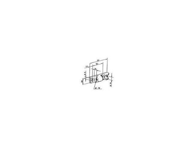 Scharnierset opbouw/inbouw | Afbeelding 3 | AHW Parts