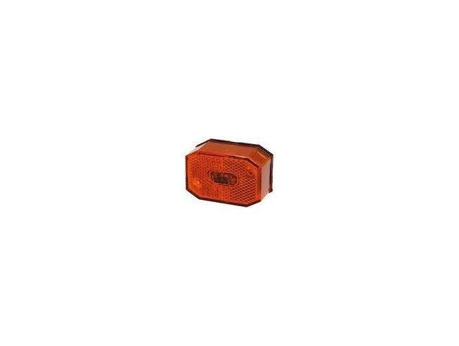 Zijmarkeringsglas Aspock Oranje | Afbeelding 1 | AHW Parts