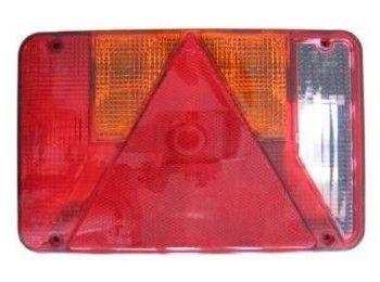Achterlichtglas Universeel Radex met achteruitrijlicht | AHW Parts