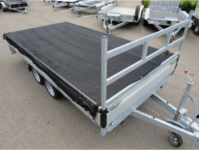 Aanhangwagen net FIJNMAZIG Proline 5700x2600 | Afbeelding 2 | AHW Parts