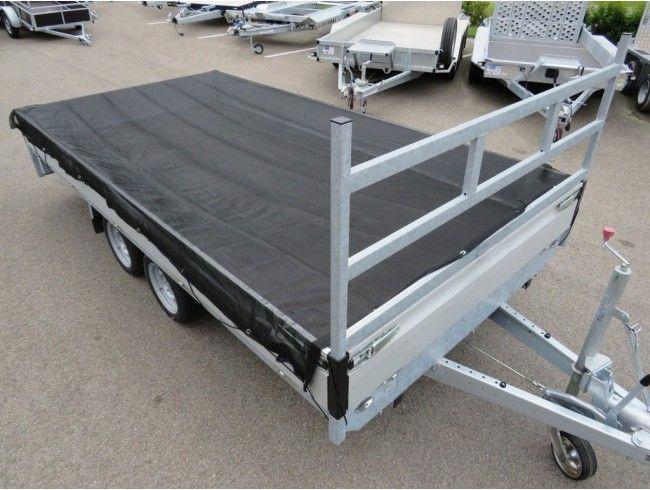 Aanhangwagen net FIJNMAZIG Proline 6700x2600 | Afbeelding 2 | AHW Parts