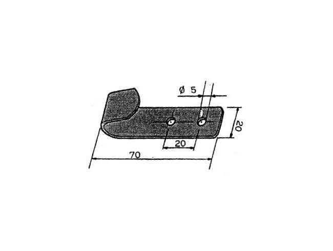 Opschroefhaak | Afbeelding 2 | AHW Parts
