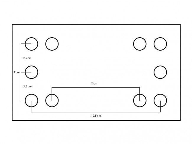 Neuswiel inklapbaar zwaar | Afbeelding 2 | AHW Parts