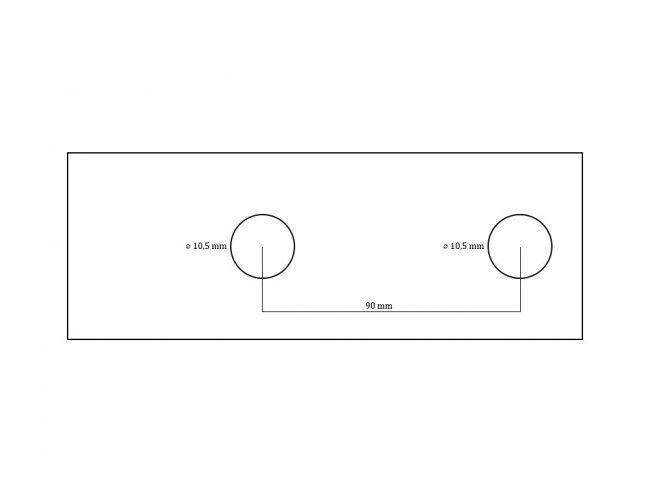 Koppeling 800 kg EM80 VF | Afbeelding 4 | AHW Parts