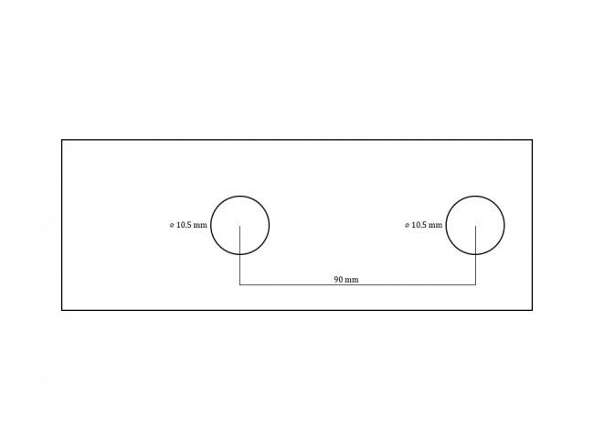 Koppeling 800 kg EM80 RF | Afbeelding 4 | AHW Parts