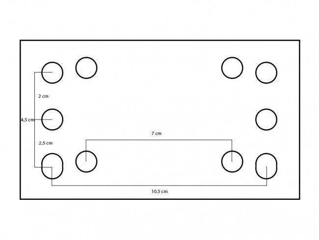 Neuswiel inklapbaar met afstandconsole zwaar | Afbeelding 2 | AHW Parts