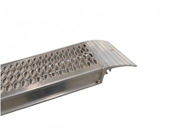 Oprijplaat set 240x30 cm 2800 kg met lip | AHW Parts