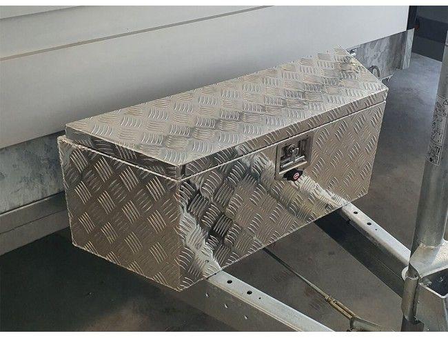 Aluminium bagagebox 90/66cm | Afbeelding 2 | AHW Parts