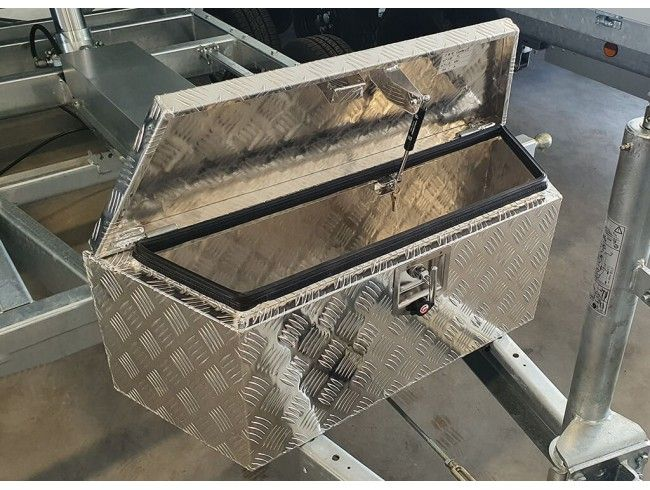 Aluminium bagagebox 90/66cm | Afbeelding 3 | AHW Parts